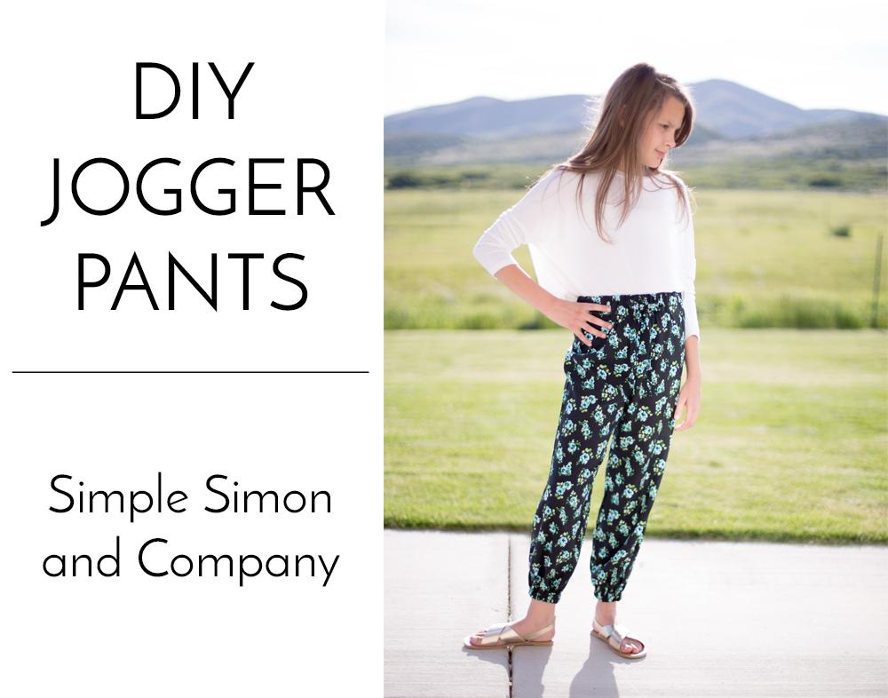 diy jogger pants