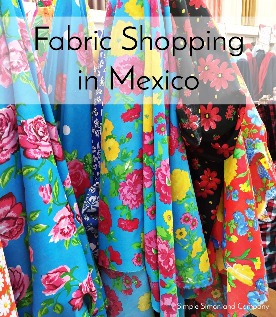 Fabric Shopping Puerto Vallarta Mexico 1