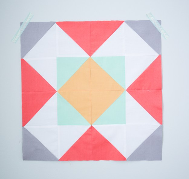 The Windmill Quilt Block Tutorial 2