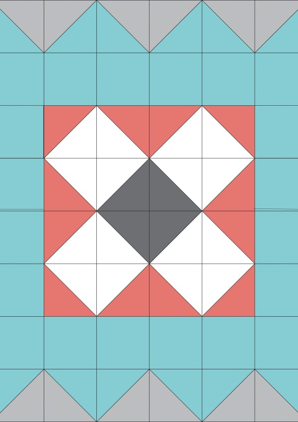 Quilt Block of the Month-X Marks the Spot Block