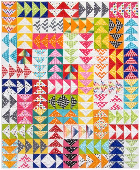 15 Flying Geese Quilts for Inspiration - Simple Simon and Company : flying geese quilts - Adamdwight.com