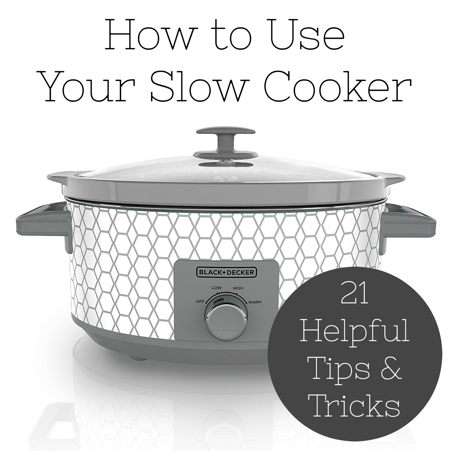 how to use your slow cooker tips and tricks simple. Black Bedroom Furniture Sets. Home Design Ideas