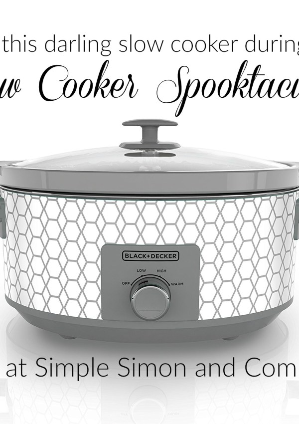 Win a Slow Cooker during our Slow Cooker Spooktacular