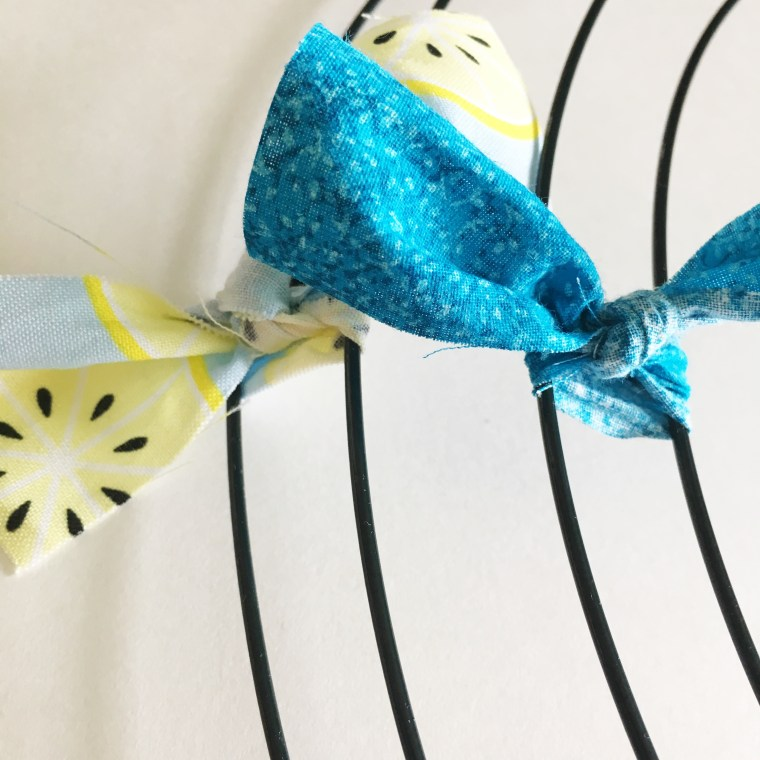 How to Make a Rag Wreath - Simple Simon and Company