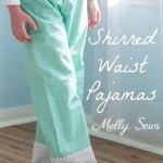 Shine Bright:  Shirred Waist Pajamas