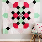 Soda Fountain Quilt with Shine Bright Fabric