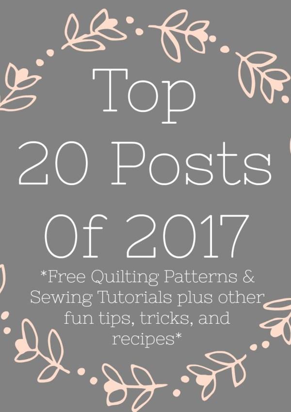 20 Most Popular Posts of 2017
