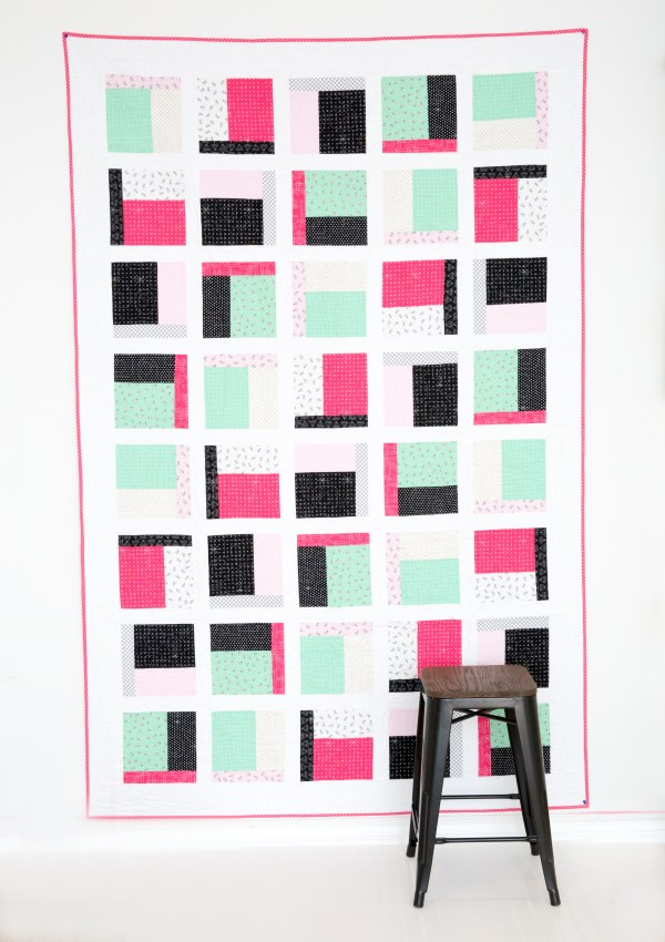 The Dorm Room Quilt PDF Pattern Release!