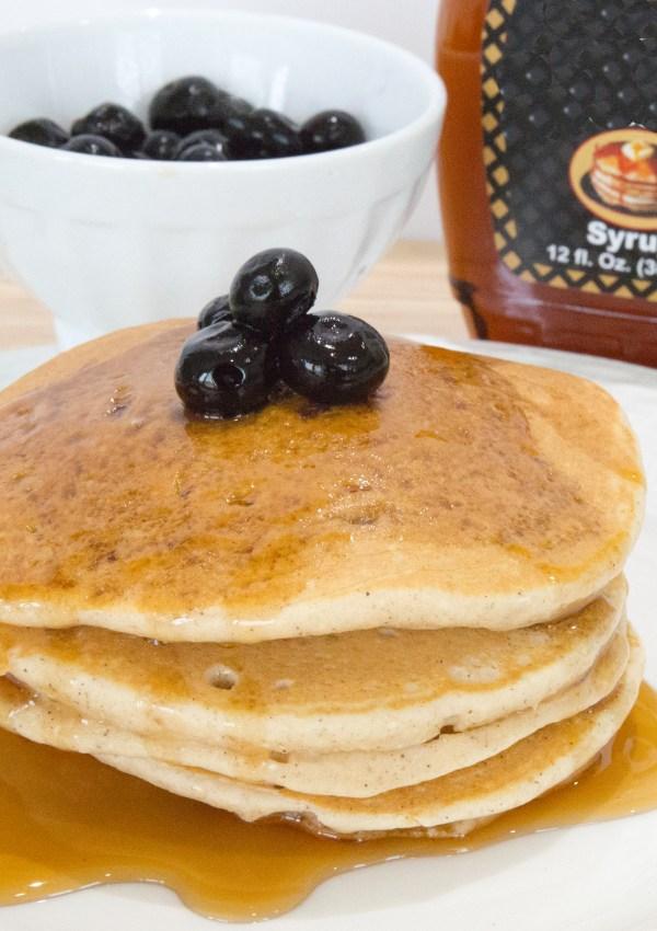 Oatmeal Blender Pancake Recipe