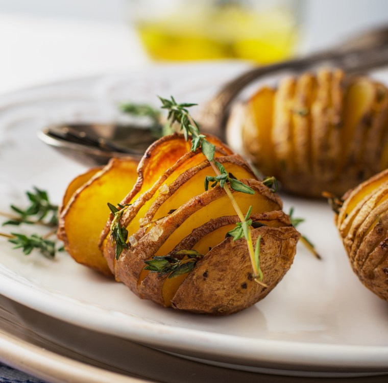 Accordion Roasted Potato Recipe