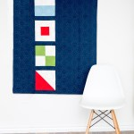 Nautical Summer Quilt Along: Modern Nautical Baby Quilt