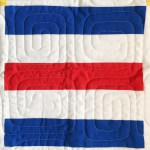 """Nautical Summer Quilt Along Traditional Quilt Day 1: """"C"""" (Rail Fence)"""