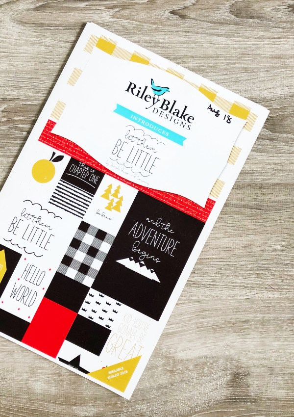 Let Them Be Little Fabric Release with Riley Blake Designs