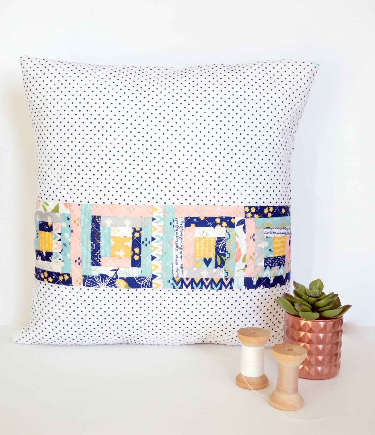 Azure Skies Pillow Pattern