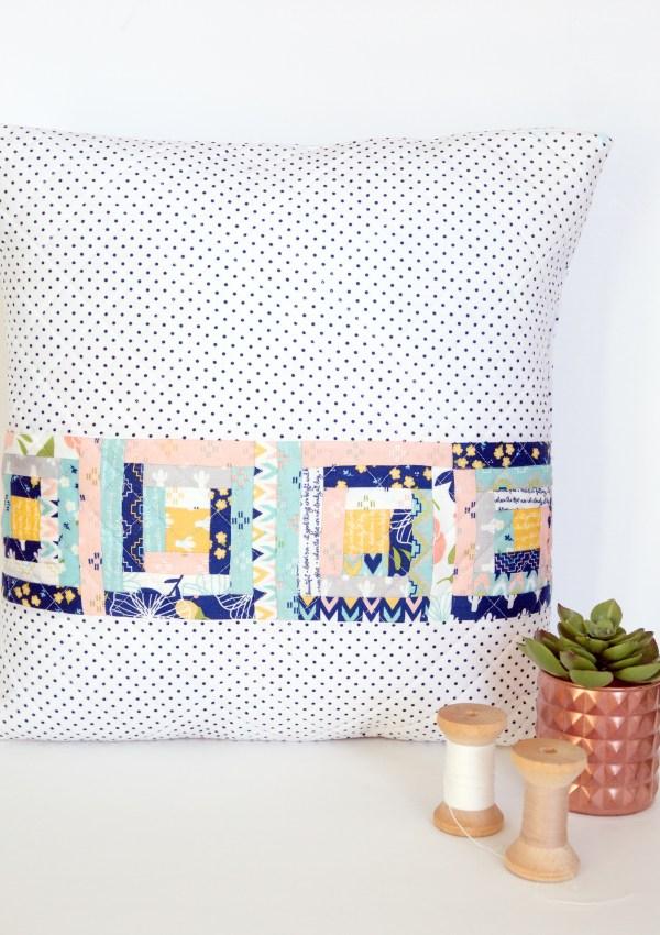 Azure Skies Pillow Pattern