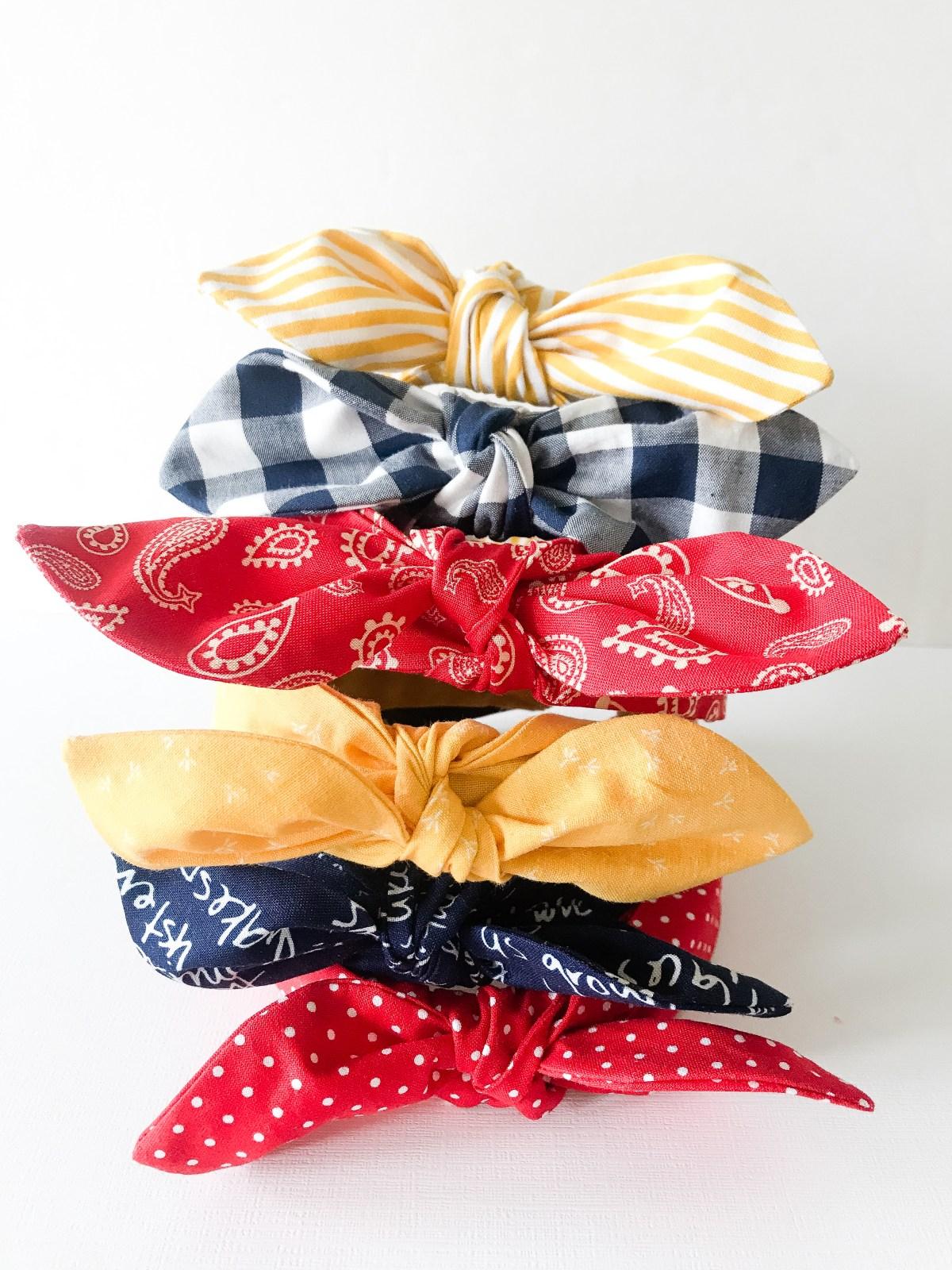 Bow Tie Headband Pattern