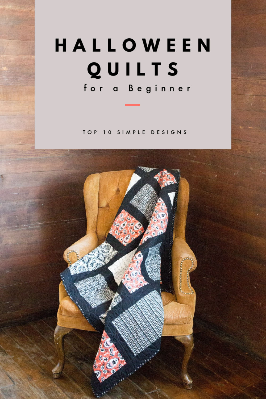10 Halloween Quilts for a Beginner