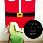 Santa (and His Elf) Quilt Pattern