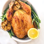 Low Carb Lemon Roasted Chicken