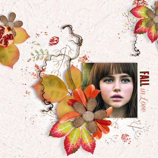 &quot&#x3B;Fall in Love&quot&#x3B; new kit ♥