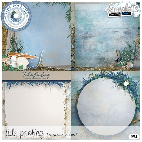 Tide Pooling collection - exclusive at the Studio