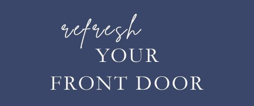 refresh your front door