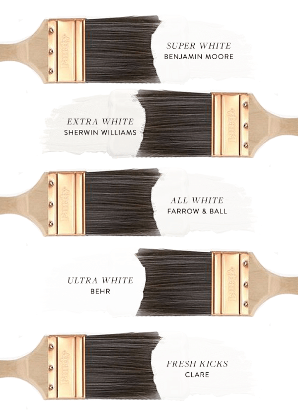 5 Best True White Paint Colors with No Undertones