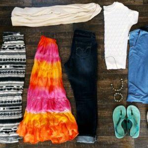 My Simple Spring Capsule Wardrobe - Simplicity Mama