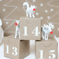 And how adorable is this diy plastic animal advent calendar by a
