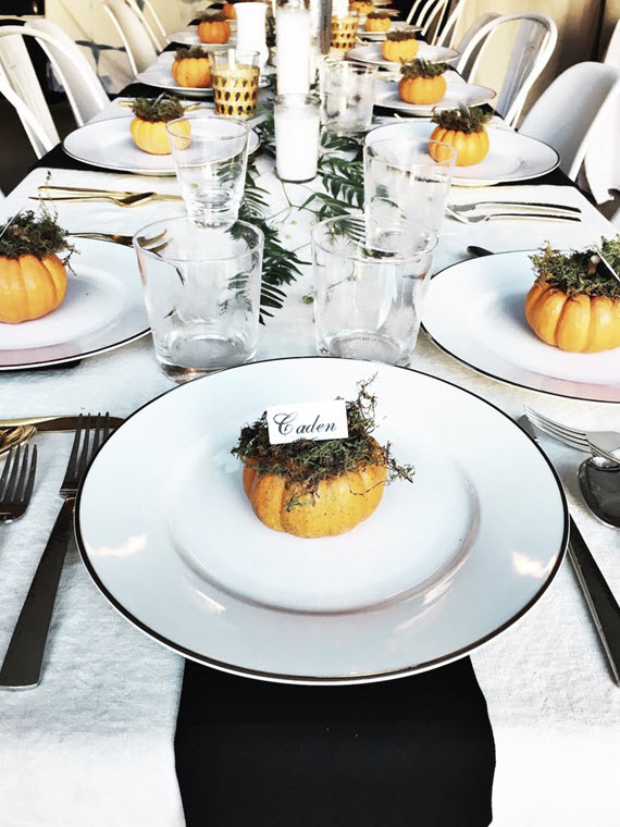 Thanksgiving Decor Inspiration  Simplified Bee