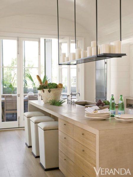 modern waterfall kitchen island countertop Kitchen Trend :: Waterfall Countertop - Simplified Bee