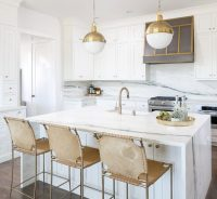 Kitchen Trend :: Waterfall Countertop - Simplified Bee