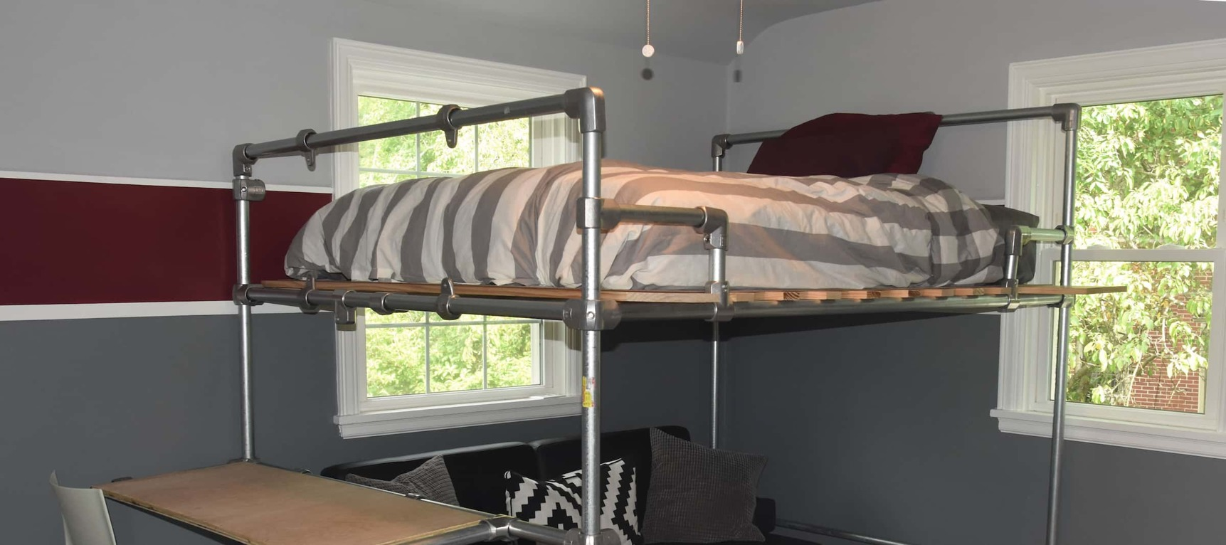 20 Diy Pipe Bed Frame Ideas And Plans Simplified Building