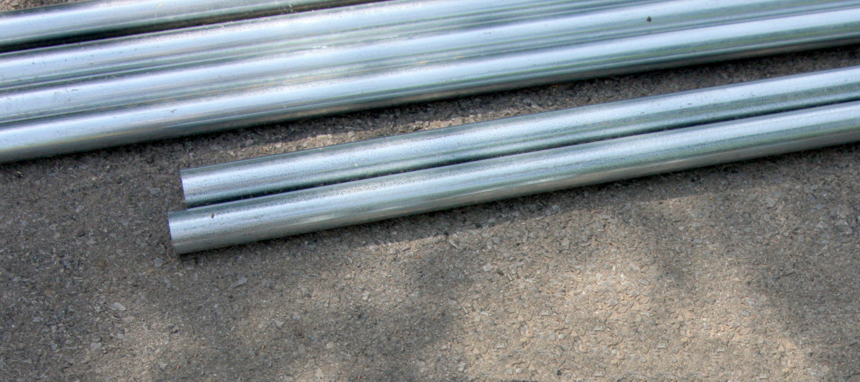 steel and aluminum pipe