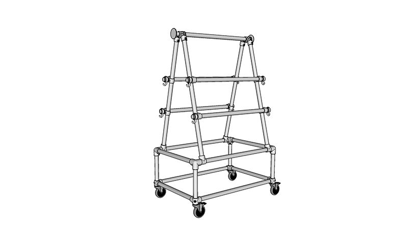 DIY Clamp and Equipment Storage Rack (with Step-by-Step