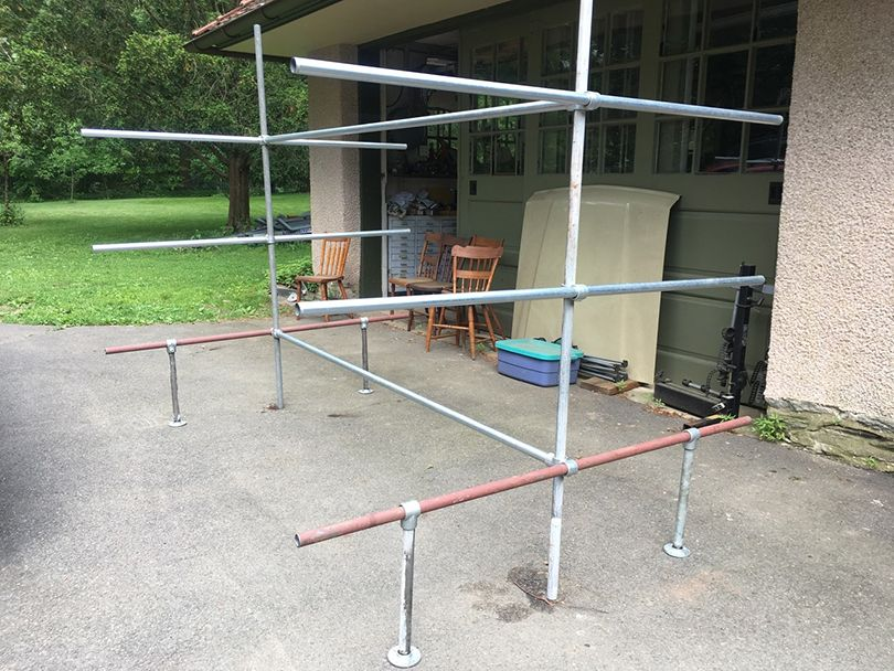 diy boat rack with step by step
