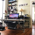 Diy Pipe Desk With Shelves What You Need To Build Your Own Simplified Building