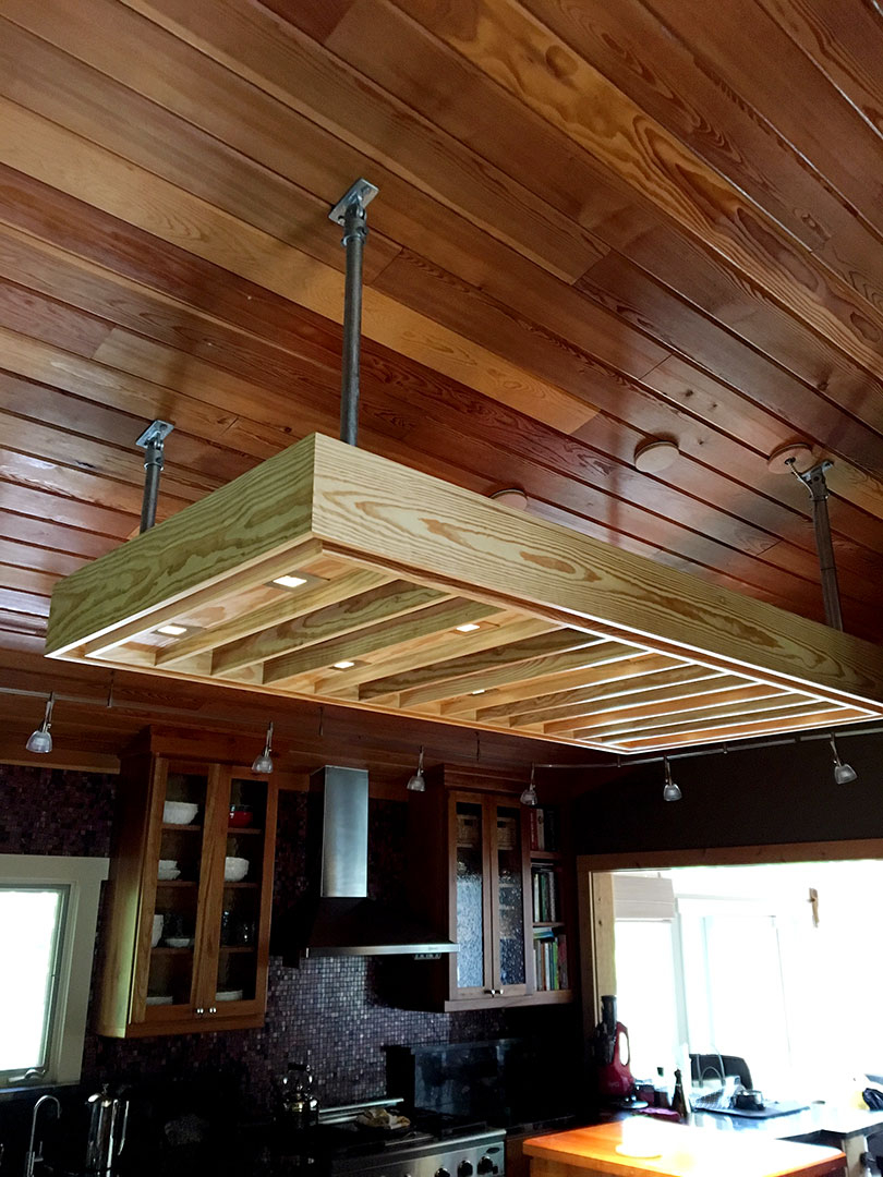 how to build your own kitchen island triple sink diy lighting fixture (& ...