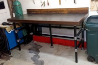 11 DIY Workbench Ideas for Your Garage or Office ...