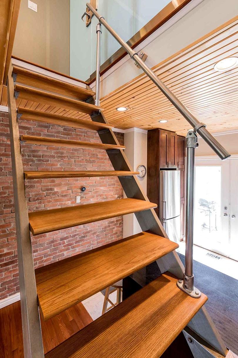 25 Indoor Railing Ideas Built Using Metal Fittings Simplified   Black Pipe Stair Railing   Diy   90 Degree Stair   Banister   Outdoor Stair   Stainless Steel