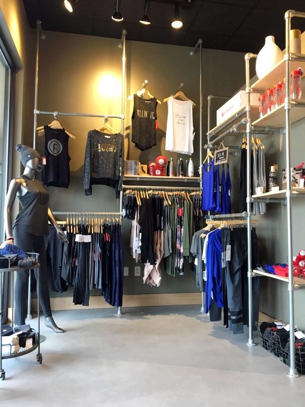 Clothing Display Racks Retail Store
