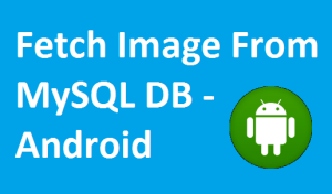 Android Download Image from Server using PHP and MySQL