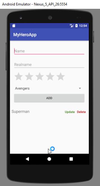 android mysql tutorial - read operation