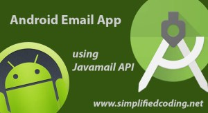 Android Email App Using Javamail API in Android Studio