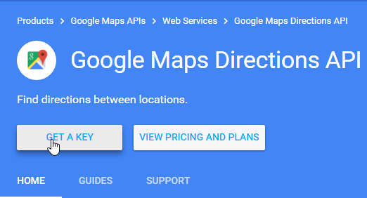 Google Maps Distance Calculator using Google Maps API