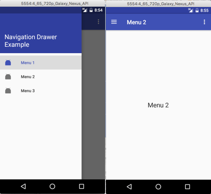 Android Design Support Library Working With Navigation Drawer