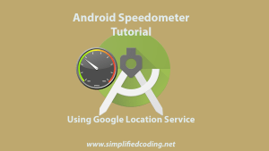 android speedometer tutorial
