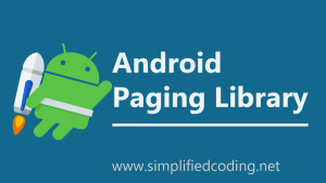 android paging library tutorial