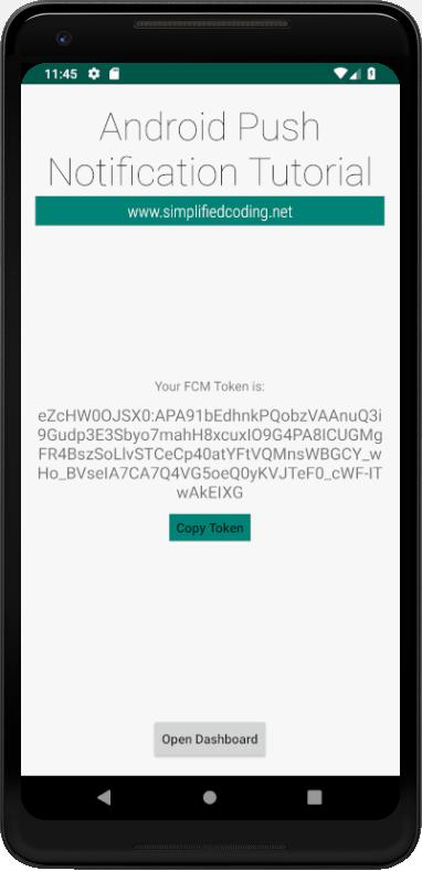 FCM Token