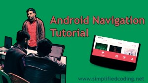 android navigation tutorial